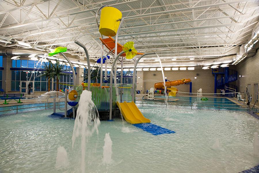The Dillon Family Aquatics Center at the Fremont Family